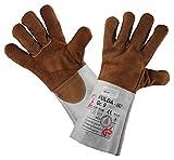 Schweißschutzhandschuhe FULDA-ISO - Hitzebeständig / Kevlar-Garn - Gr. 10